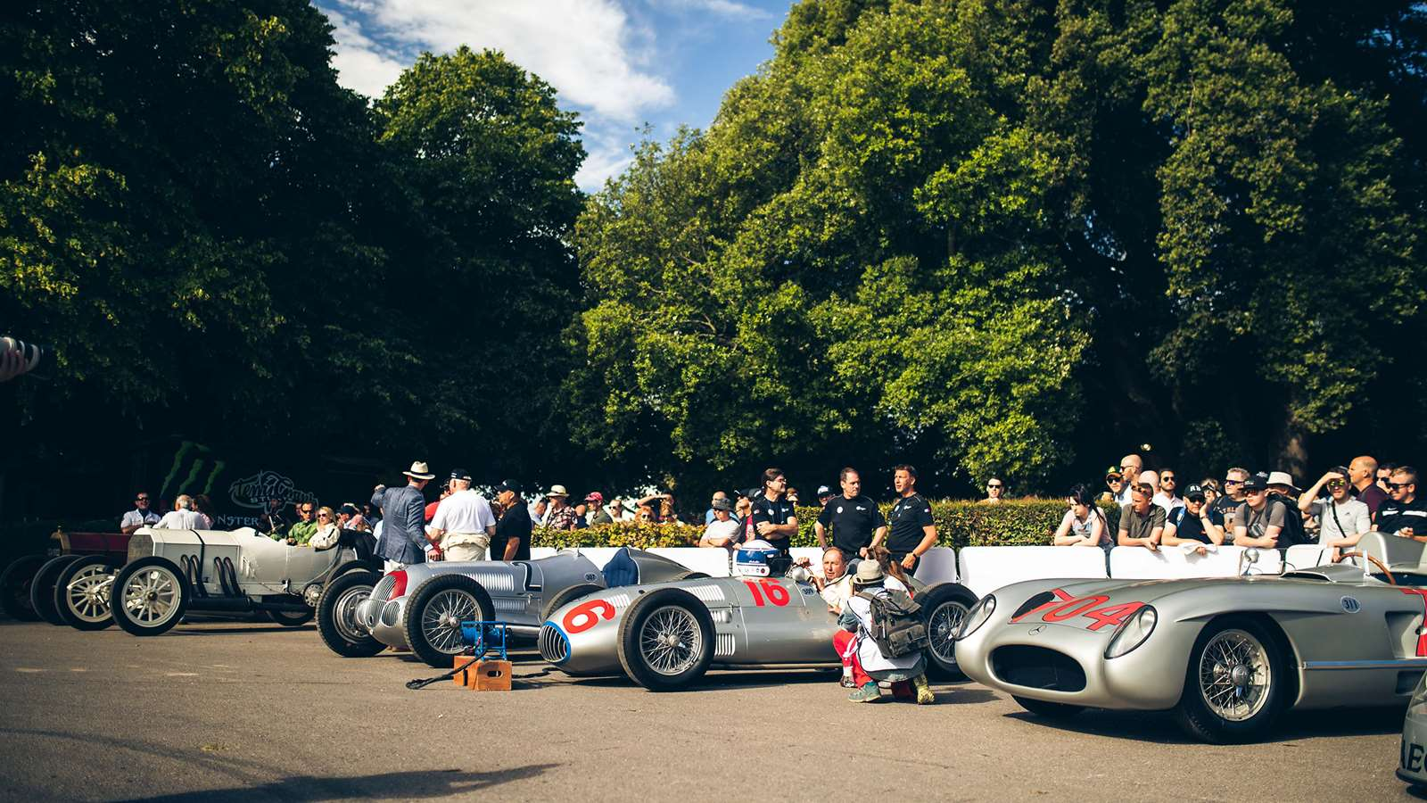 Gallery] 125 Years of Mercedes-Benz motorsport at FOS