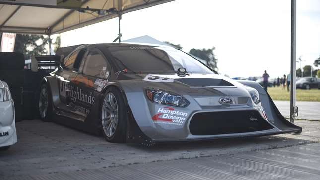 This Pikes Peak Ford Focus Is A Hillclimb Monster