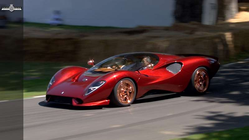 Festival Of Speed >> [Video] De Tomaso P72 makes incredible impression in FOS debut