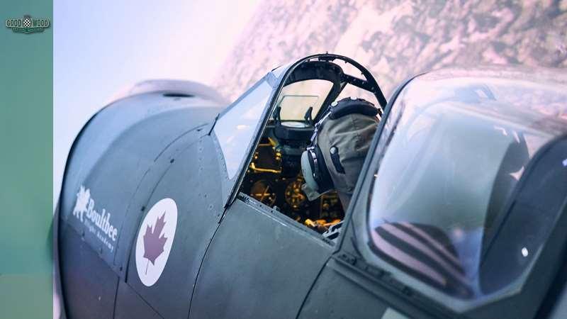 We 'fly' a Spitfire