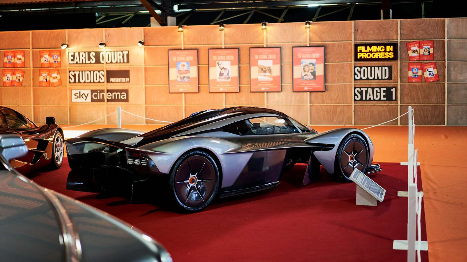 Aston Martin Valkyrie At The Earls Court Motor Show