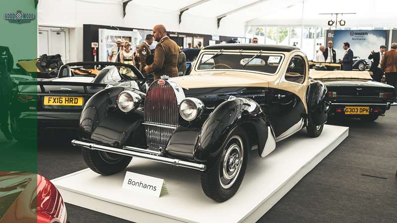 Stunning Bugatti Type 57 sells for £1.5 million at Revival