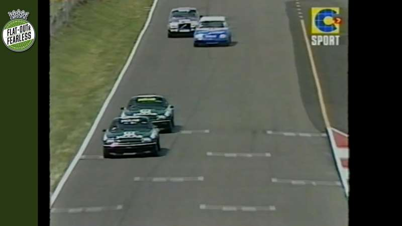 Video] Thirty-two years ago, a TWR Jaguar broke the Bathurst