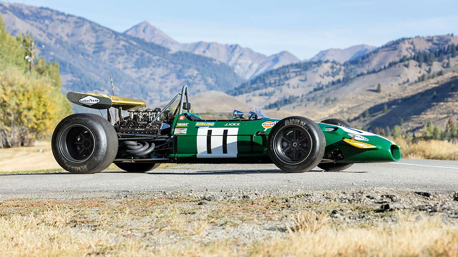 Your chance to own Jacky Ickx's BT26A F1 Car
