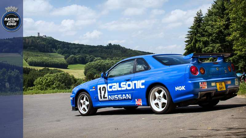 Driving to the Nürburgring 24 in a Calsonic Nissan GT-R | GRR