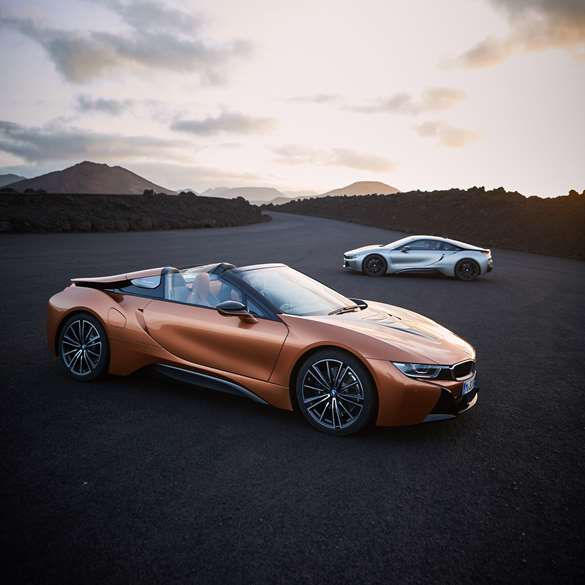 Bmw I8 Roadster: Is BMW's New I8 Roadster The Coolest Hybrid Yet?