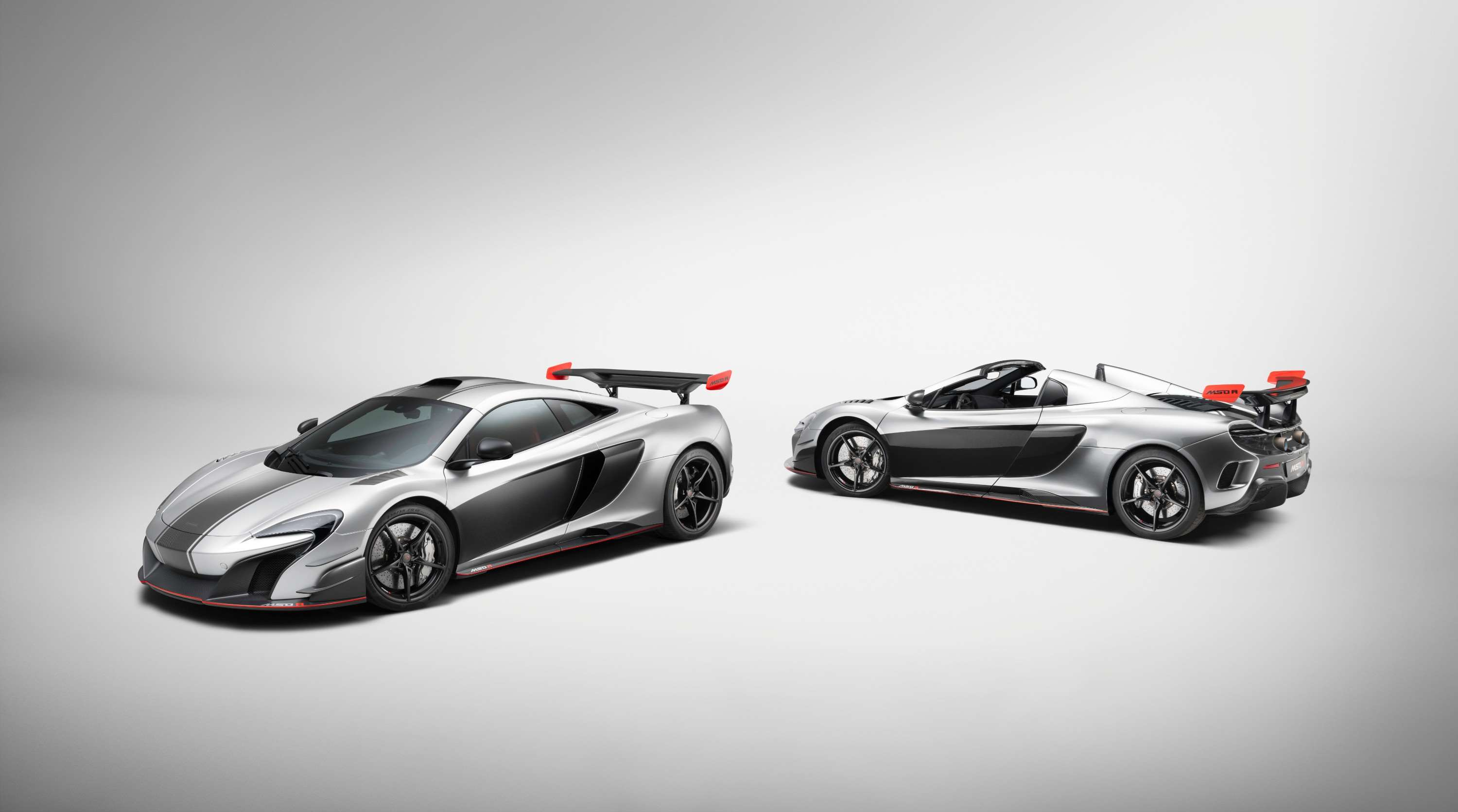 Two unique McLaren MSO R cars for one lucky customer