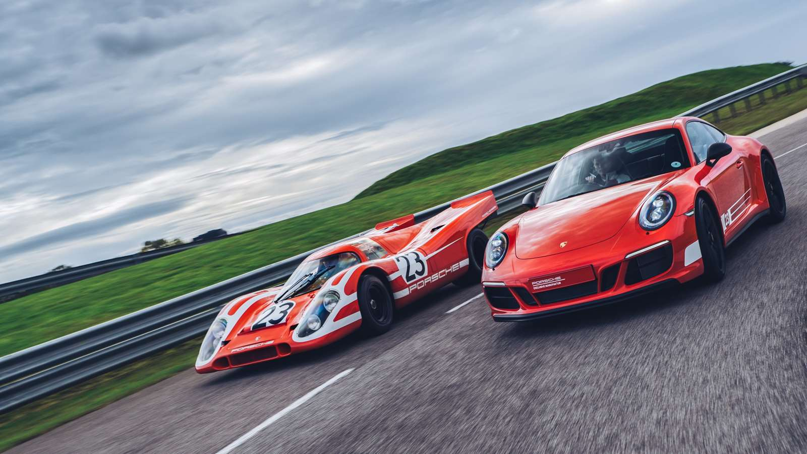 British Legend Edition 911s celebrate Porsche's Le Mans-winning Brits