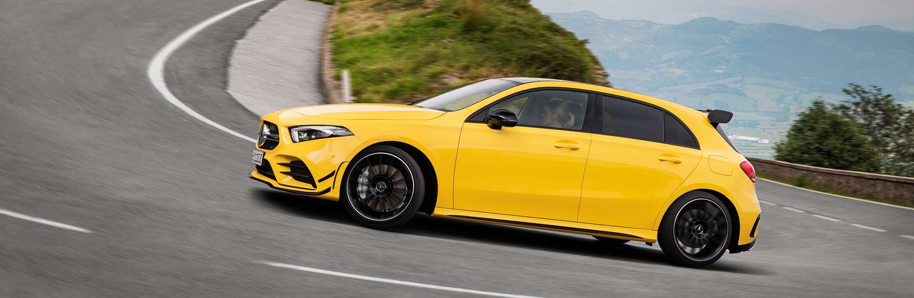 Here is the 300hp+ Merceds-AMG A35