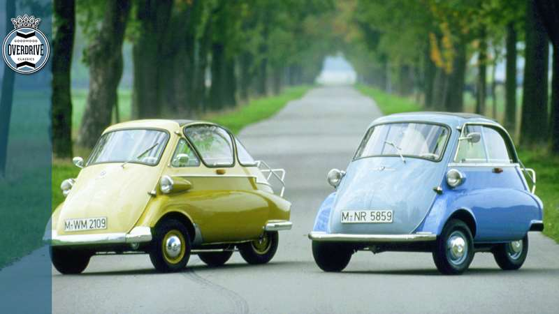 Isetta – the terrible car that saved BMW