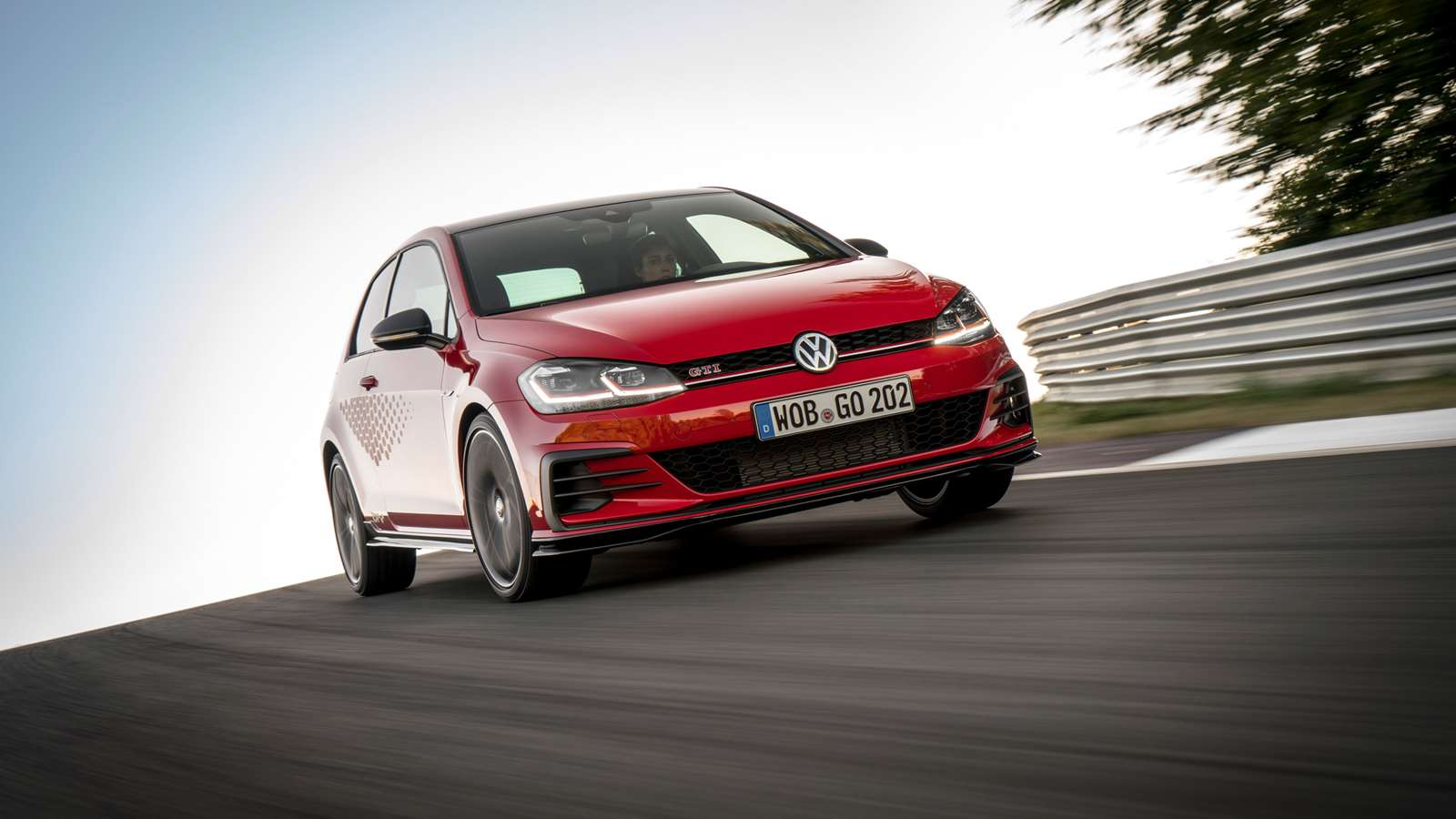 Golf GTI TCR: more power, more noise, more speed