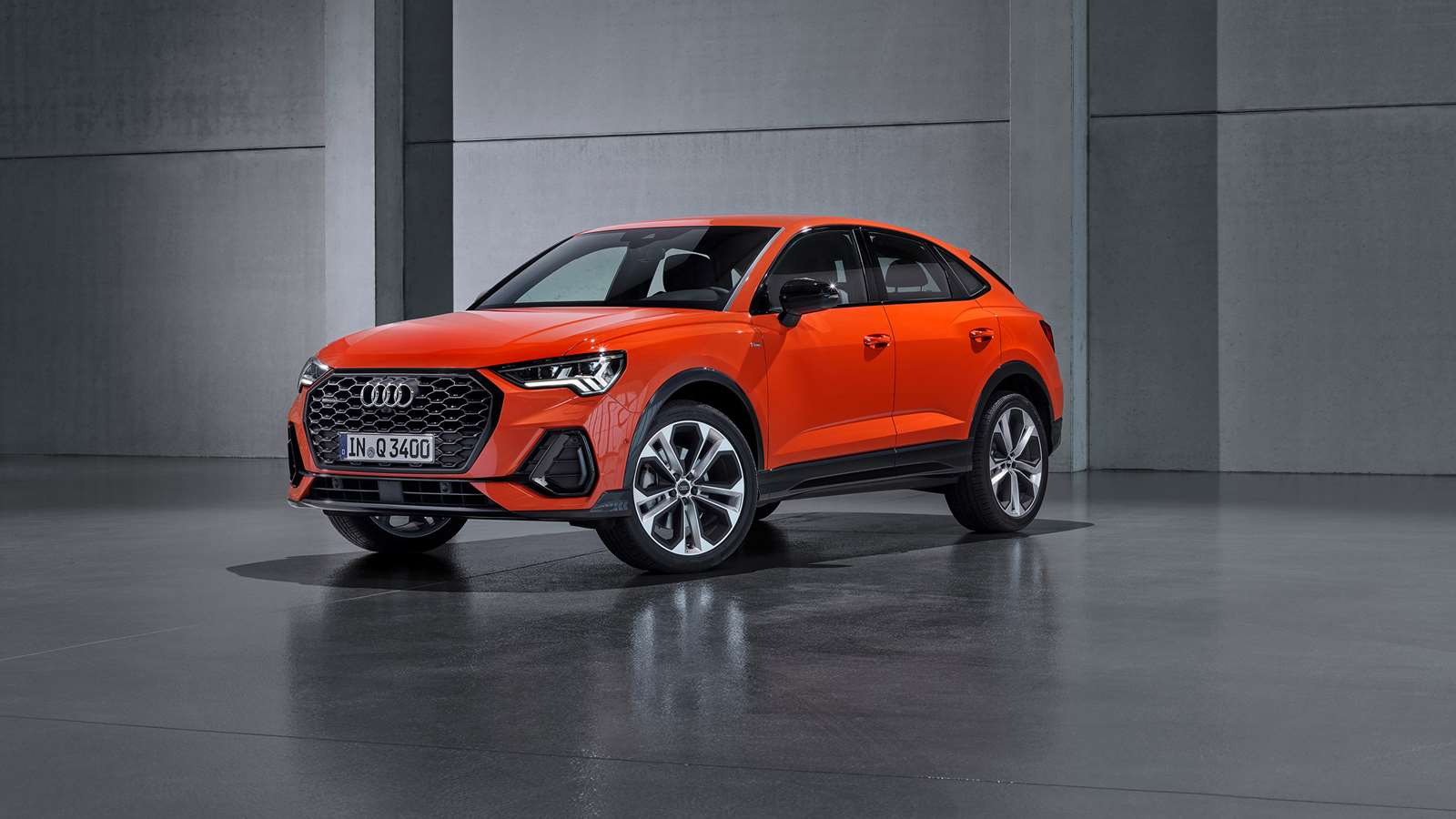 The Q3 Sportback is Audi's coupé-styled Q3