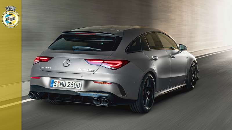 This Is The New 415bhp Mercedes Cla 45 Amg S Shooting Brake