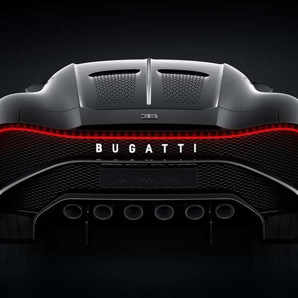 The 'La Voiture Noire' Is Bugatti's Tribute To The Type 57
