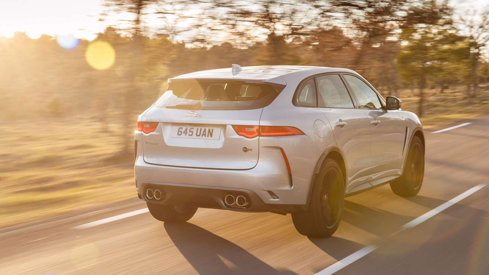 07048627 ... and now Jaguar's F-Pace SVR. Purists might not like the uneasy blend of  high performance and a high ride, but the market says otherwise.