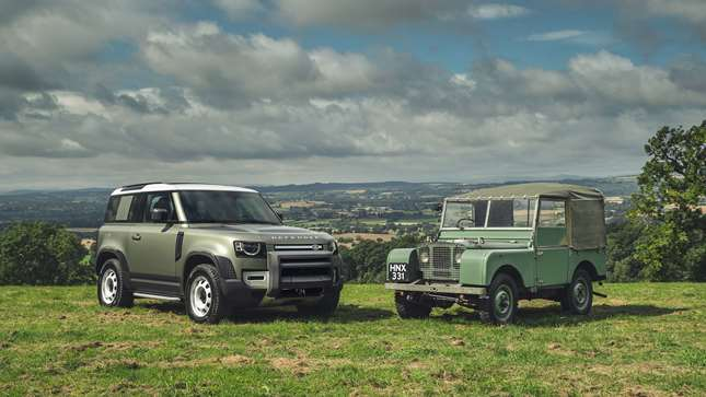 An icon reborn: the all-new 2020 Land Rover Defender