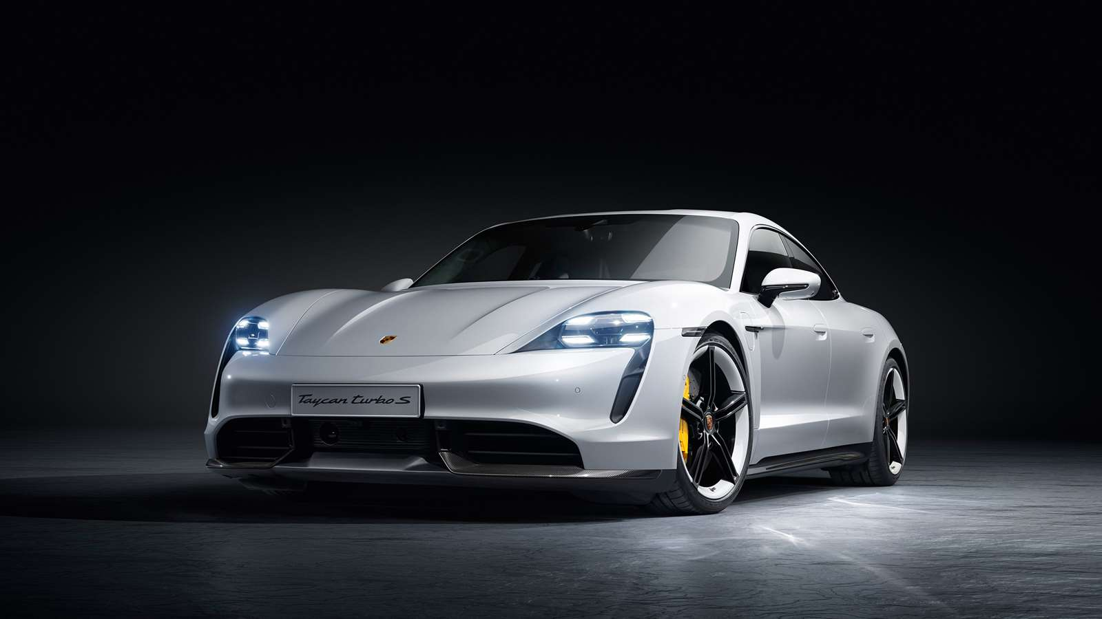 The all-electric Porsche Taycan has arrived