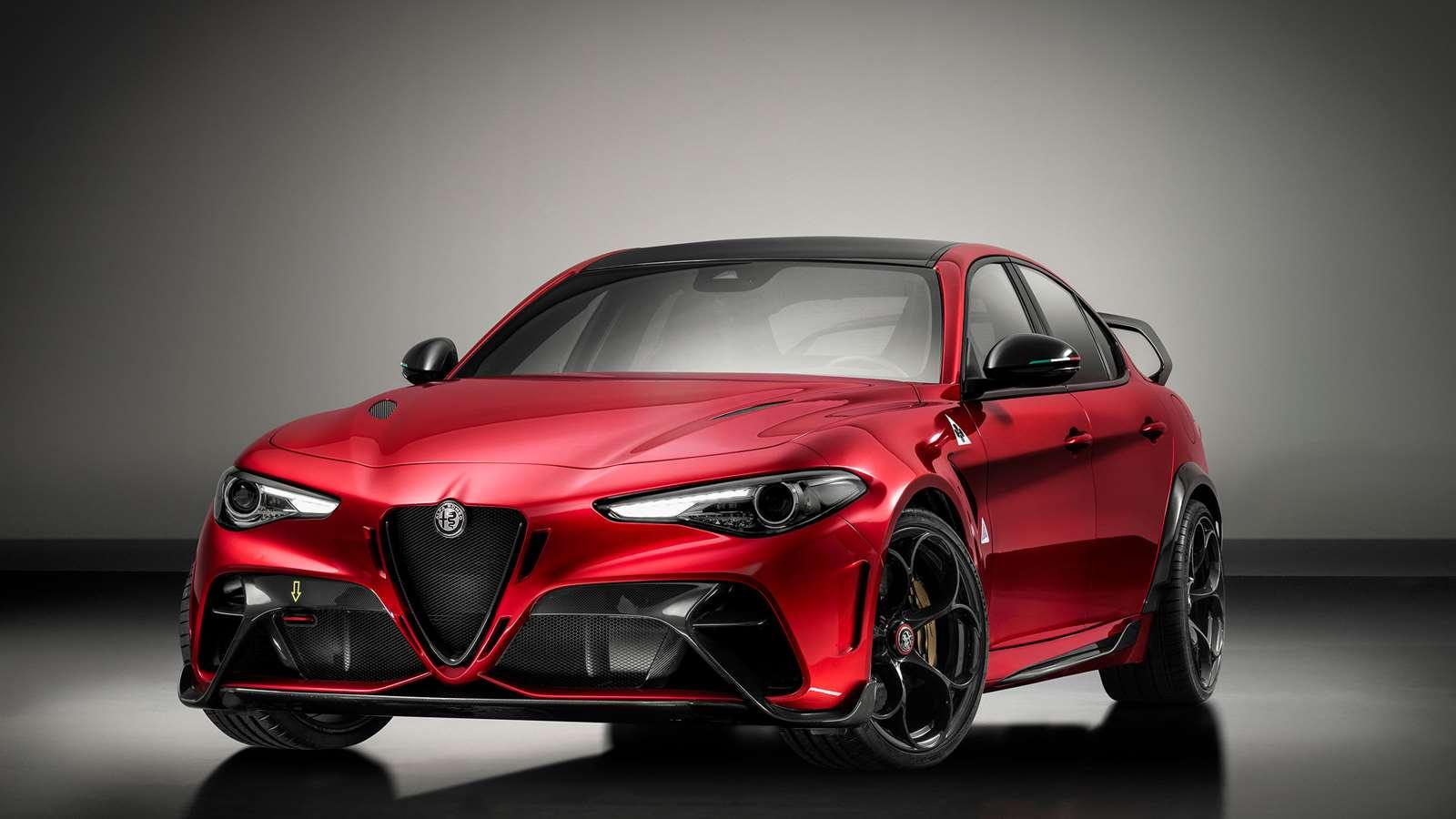 Revealed Track Focussed 540ps Alfa Romeo Giulia Gta Grr