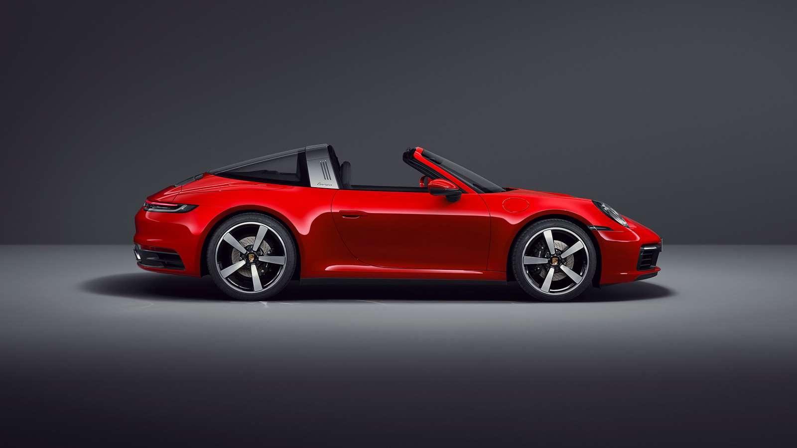 Porsche Reveals New 992 911 Targa Grr