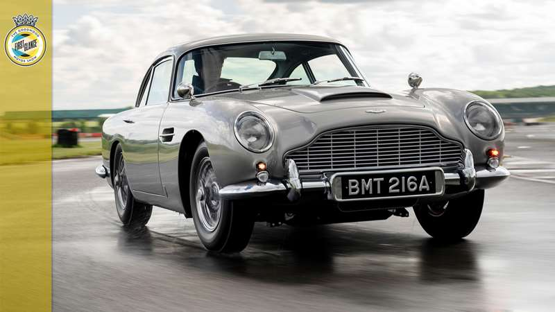 The DB5 Goldfinger Continuation has all the Bond gadgets | GRR