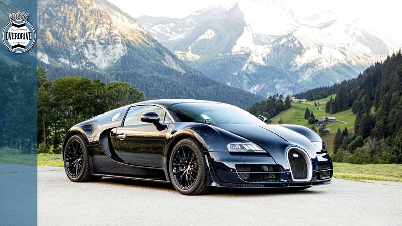 why have one bugatti veyron when you could have three  grr