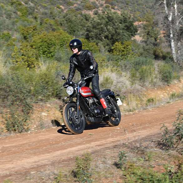 The Goodwood Test Triumph Street Scrambler