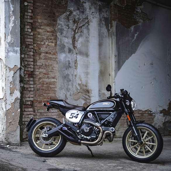 The Goodwood Test Ducati Scrambler Café Racer