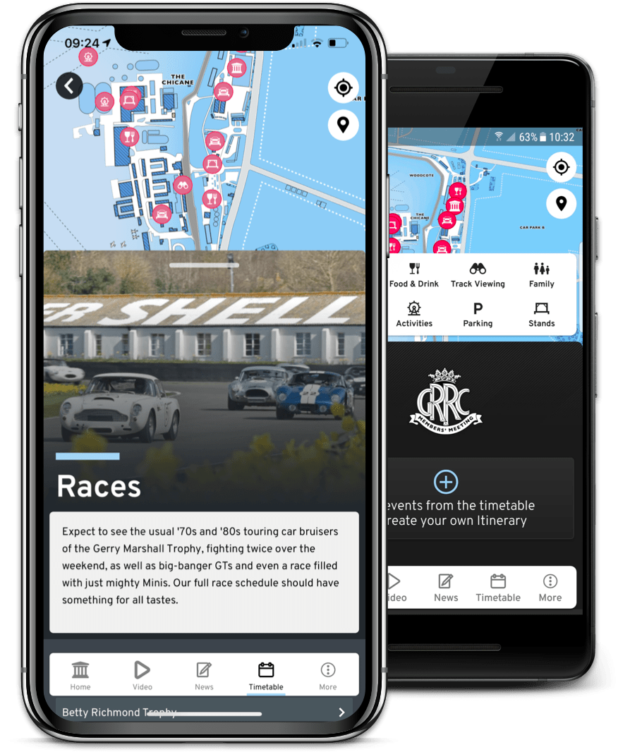 Goodwood Motorsport App
