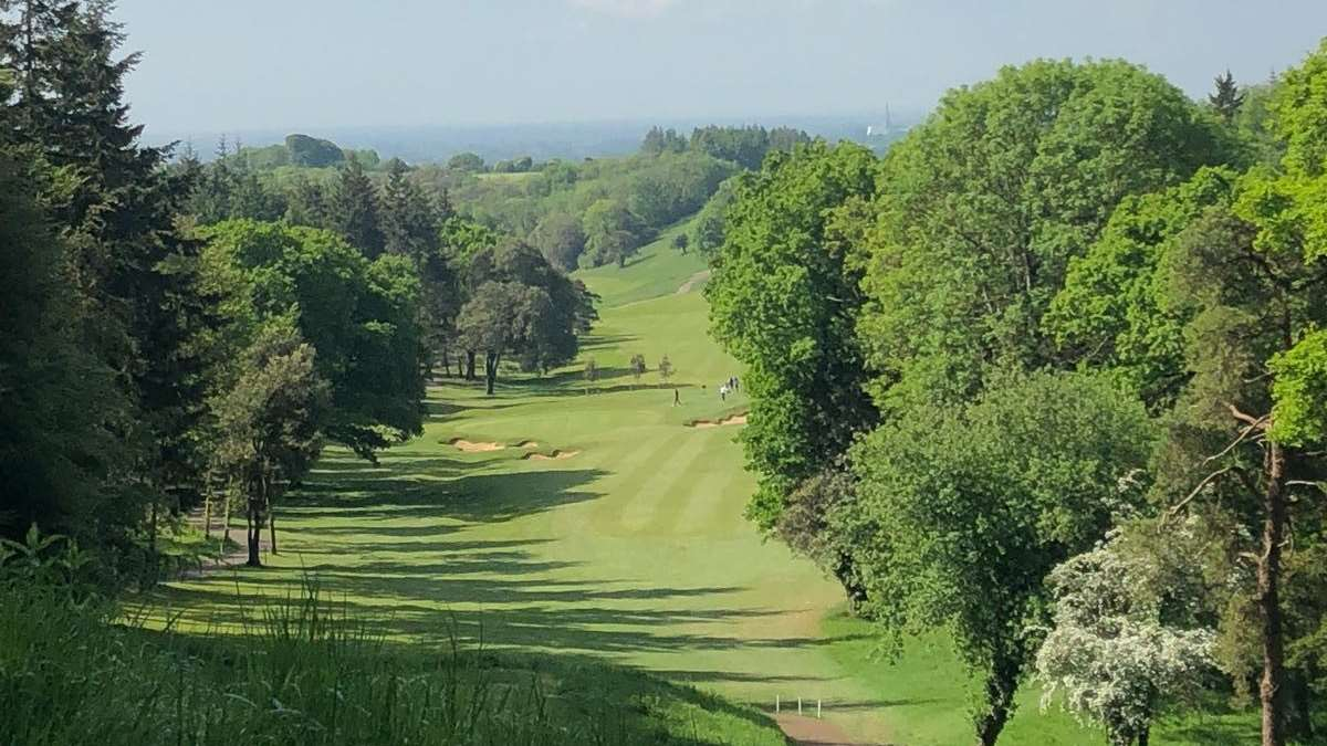 The Club Championships, The Downs Course