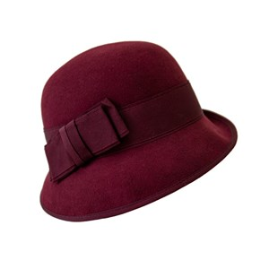 Goodwood Cloche Red
