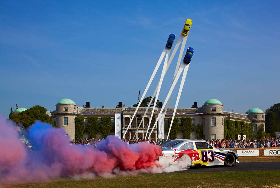 Festival Of Speed >> Goodwood Gallery The History Of The Fos Central Display