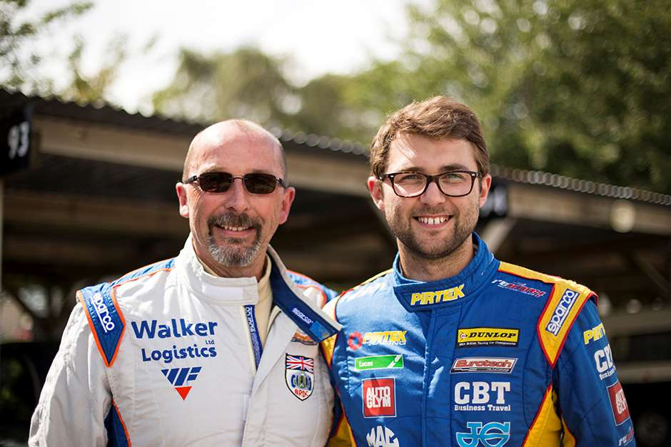 Mike (left) and Andrew Jordan.