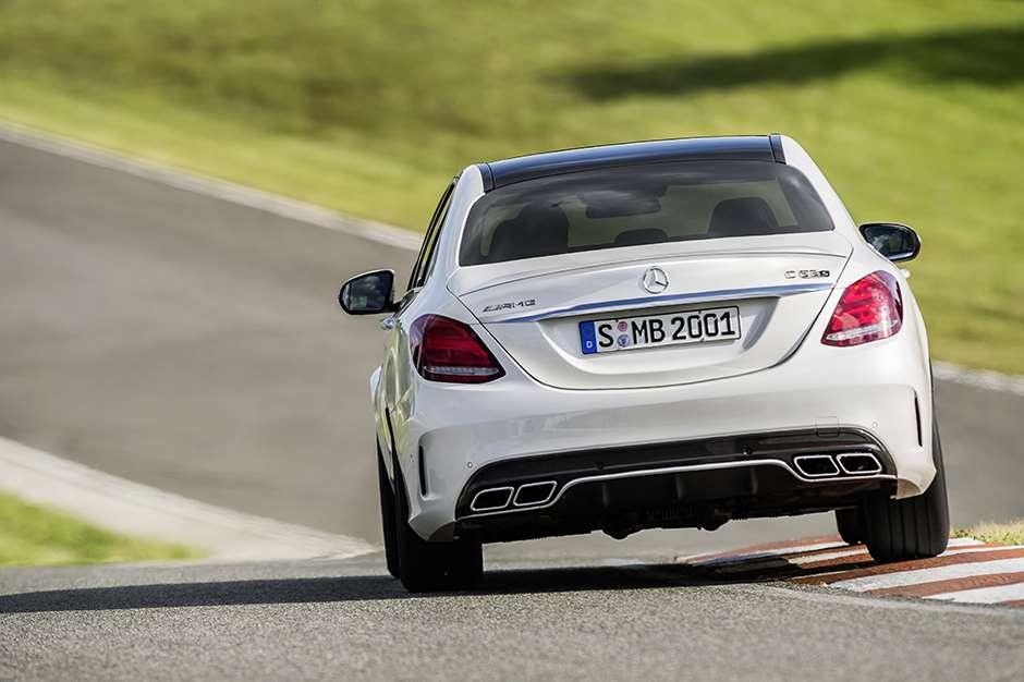 Mercedes AMG C63 new test driven 14c596_04020140924