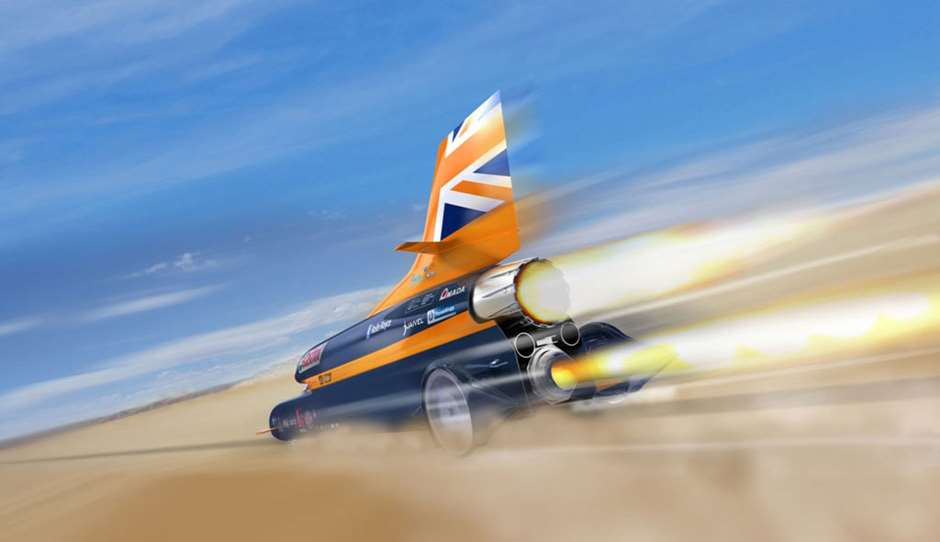 Bloodhound SSC record car