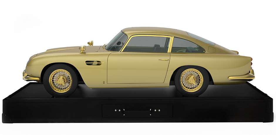 side Gold Aston Martin 220914