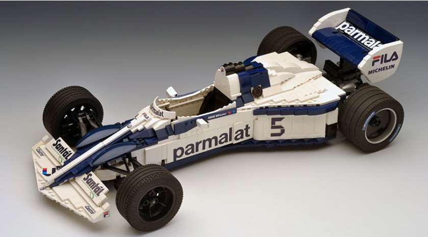 Goodwood Incredible Lego F1 Cars That You Can Build Yourself