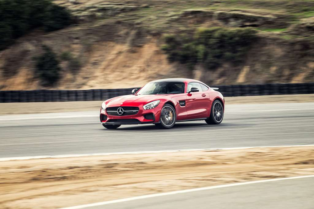 Mercedes AMG GT, Chris Harris