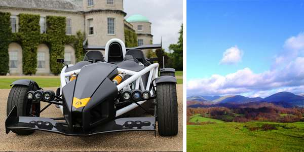 Michelin pub guide Ariel Atom 3.5 drunken duck