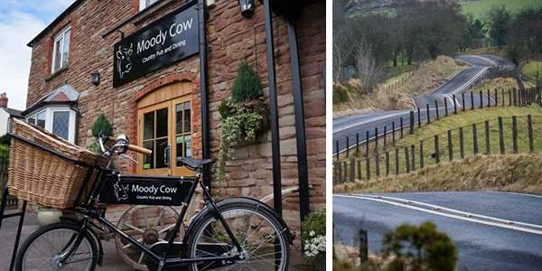 Moody cow herefordshire pub guide B4520 Brecon