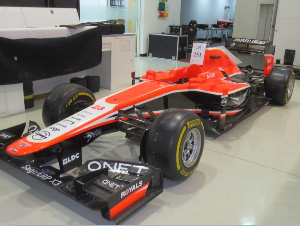marussia-f1-auction-sale