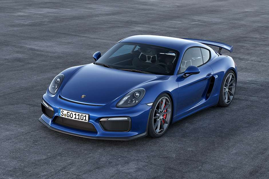 New Porsche Cayman GT4 First Official Pictures