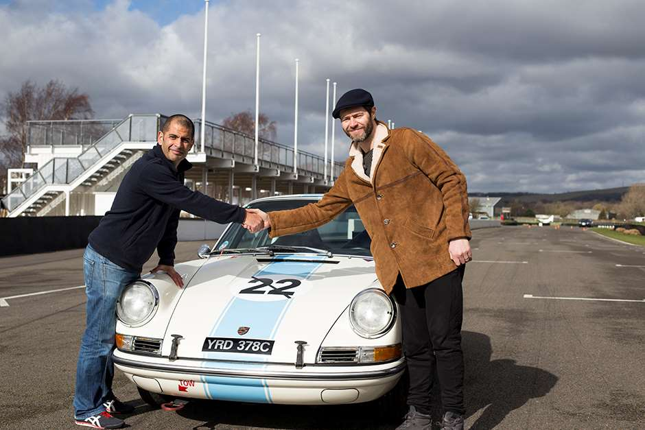 Take That Howard Donald Porsche