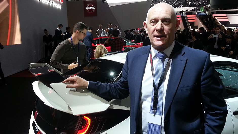 Honda MD Philip Crossman Geneva