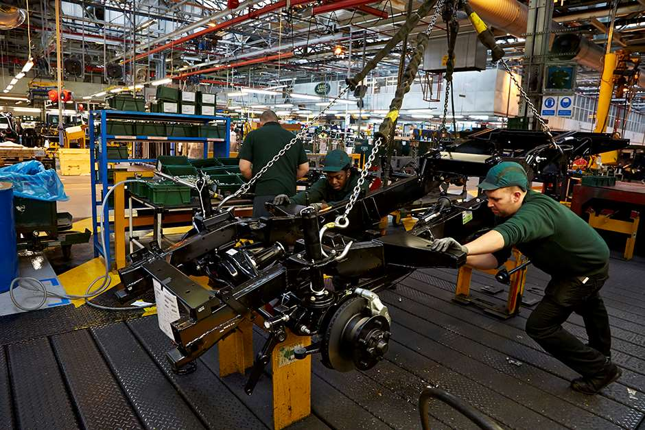Land Rover Factory