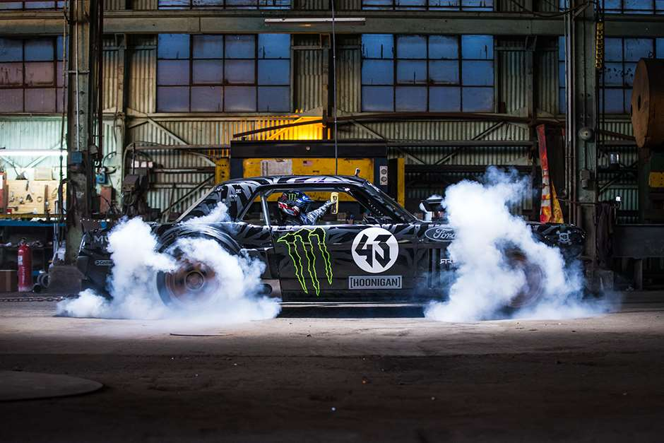 Ken Block Goodwood FOS