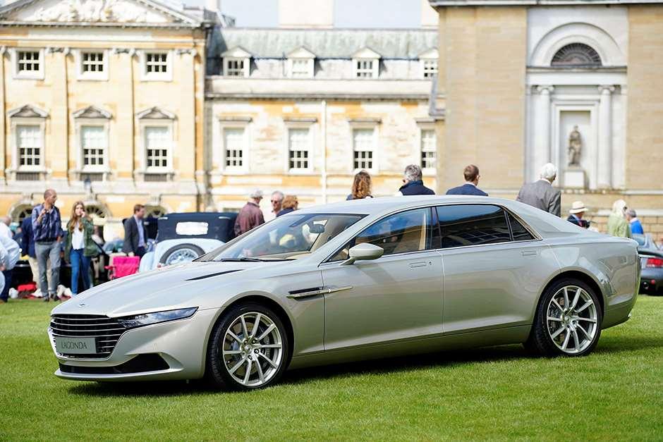 Goodwood Aston Martin Lagonda Taraf Makes Uk Debut