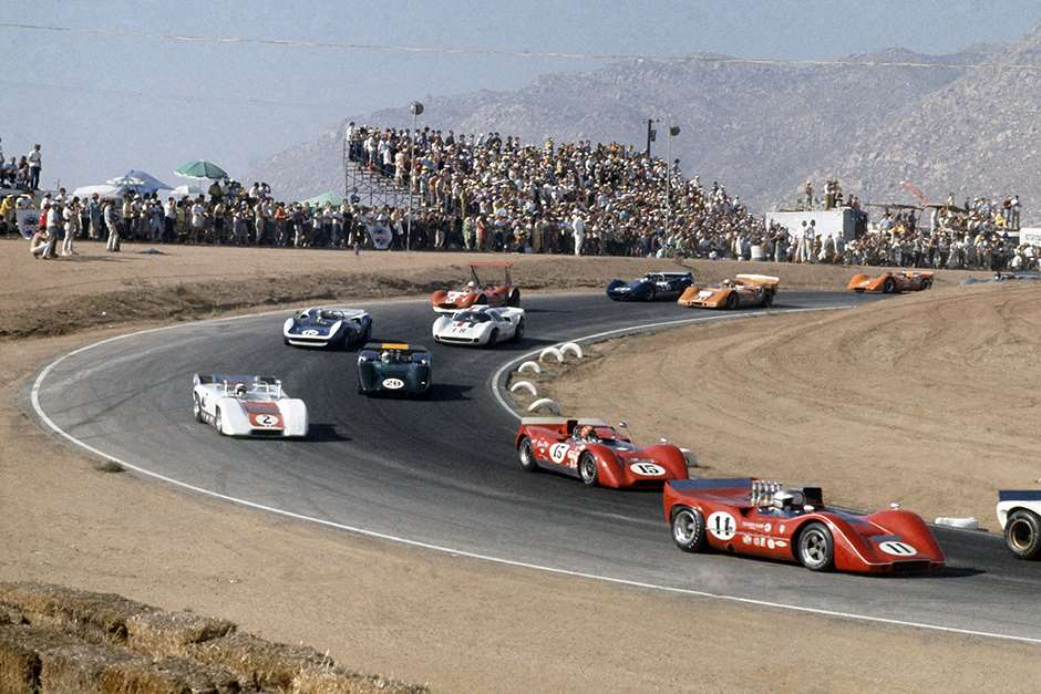 Revival Whitsun Trophy Can-Am race Riverside