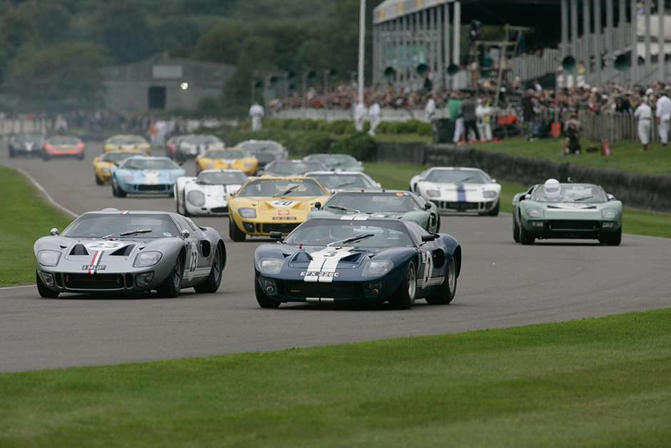 74th Members' Meeting announcement Ford GT40
