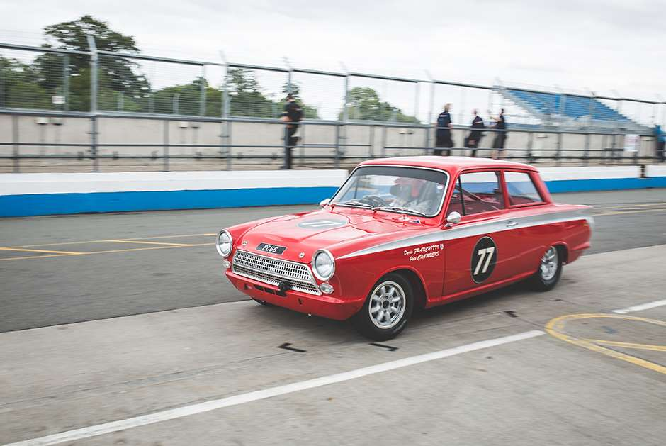 Jordan Lotus Cortina Donington