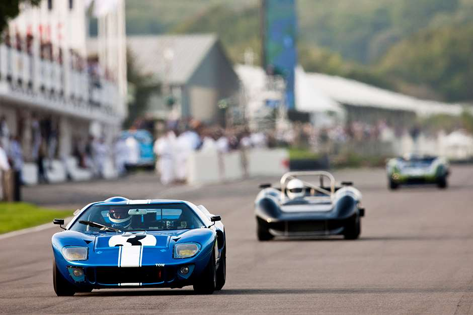 Revival 2014 Whitsun Trophy Ford GT40